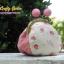 กระเป๋าปิ้กแป้กขนาด 7 cm มีด้านข้าง ผ้าญี่ปุ่น ควิลล์มือ สำหรับใส่เหรียญ ของจุกจิก (สินค้าฝากขาย ไม่บวกเพิ่ม ) thumbnail 2