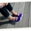 W7 (23.5 cm.) : Crocs Duet Sport Mary Jane - Onyx / Ultraviolet ของแท้ Outlet ไทยและอเมริกา thumbnail 3