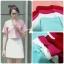 เสื้อแฟชั่นผ้าฮานาโกะ เสื้อทำงาน สีขาวครีม แขนสามส่วนแต่งโบว์ น่ารักมากๆ สินค้าคุณภาพดี ราคาไม่แพง thumbnail 7
