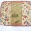 กระเป๋าใส่ Ipad โทนสีแดง มีช่องใส่ของจุกจิกด้านหน้ากระเป๋า ผ้าญี่ปุ่น ควิลล์มือค่ะ ปกป้องไอแพดที่รักของคุณ น่ารักไม่ซ้ำใคร thumbnail 3