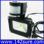 LFL006 LED Flood Light 10W 220V แสงสีขาว 900LM PIR LED flood lamp ไฟส่องอาคารพร้อมเซ็นเซอร์แสงตั้งเวลาเปิดปิด (Chip from Taiwan) ยี่ห้อ OEM รุ่น 10W-900 thumbnail 1