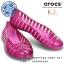 J6 (25 cm.) : Crocs Adrina II Glitter Flat Girls - Fuchsia / Party Pink ของแท้ Outlet ไทยและอเมริกา thumbnail 1