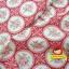 ผ้าฝ้ายญี่ปุ่นลายดอกุหลาบ โทนสีแดงสดใส น่ารักดีค่ะ คอตตอน 100% ตัดเสื้อได้ค่ะ thumbnail 3