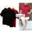 เสื้อแฟชั่น เสื้อทำงาน ผ้าฮานาโกะ สีดำ คอปกเก๋ๆ สินค้าคุณภาพ ราคาไม่แพง thumbnail 3