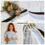 เสื้อผ้าแฟชั่น เสื้อทำงาน สีฟ้า เอวมัดโบว์เก๋ๆ ผ้าฮานาโกะเนื้อดี แบบสวยน่ารักๆ ใส่ได้ทุกโอกาส คุณภาพดี ราคาไม่แพง thumbnail 11