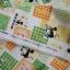 คอตตอนลินินญี่ปุ่นลาย Patchwork น้องแมวโทนเขียว thumbnail 3