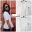 เสื้อแฟชั่น สีขาว ผ้าฮานาโกะ ทรงสวย เนื้อผ้านิ่ม อยู่ทรง ไม่ยับง่าย ใส่สบาย สินค้าคุณภาพ ราคาไม่แพง thumbnail 2