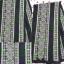 ผ้าปัก ลายเล็ก+ลายใหญ่ สีโทนเขียวม่วง สดใส thumbnail 1
