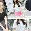 เสื้อแฟชั่นผ้าฮานาโกะ เสื้อทำงาน สีขาว คอและแขนเป็นหยักๆ สวยหวาน สินค้าคุณภาพ ราคาไม่แพง thumbnail 6