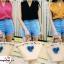 เสื้อผ้าแฟชั่น เสื้อทำงาน ผ้าฮานาโกะ สีฟ้าอ่อน แขนกุด จับจีบช่วงไหล่แต่งทรง สวยเรียบหรู ใส่ได้ทุกโอกาส thumbnail 11