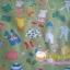 ผ้าฝ้ายอเมริกาลาย ของใช้เด็กทารก น่ารักน่าชังดีค่ะ สีเขียว ของ goo goo gear The Alexander Henry Fabrics thumbnail 3