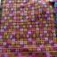 ผ้าปักอิวเมี่ยน ลายปักโบราณ สีโทนน้ำตาลส้มสดใส thumbnail 1