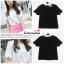 เสื้อแฟชั่นผ้าฮานาโกะ เสื้อทำงาน สีดำ คอและแขนเป็นหยักๆ สวยหวาน สินค้าคุณภาพ ราคาไม่แพง thumbnail 2