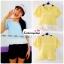 เสื้อแฟชั่น เสื้อทำงาน ผ้าฮานาโกะ สีเหลือง พาสเทล สดใส แต่งเอวผ้าซีฟองพริ้วๆ น่ารักมากๆ สินค้าคุณภาพ ราคาไม่แพง thumbnail 2