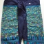 กางเกงปัก สำหรับผู้หญิง โทนสีน้ำเงินสดใส thumbnail 1