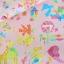 ผ้าคอตตอนลินินญี่ปุ่น ลาย เด็กผู้หญิง Popping Smoothie สีชมพูหวานเนื้อดีลายน่ารักมากค่ะ thumbnail 2