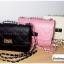 (หมดจ้า) กระเป๋าแฟชั่น สีชมพู หนัง PU ลาย Chanel ชาเนล สายโซ่สะพายไหล่ ปรับความยาวได้ แบบยอดนิยม ((โปรโมชั่นส่งฟรี)) thumbnail 7
