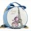 (หมดจ้า) กระเป๋า Axixi ทรงกลม สีฟ้า ภาพพิมพ์หอไอเฟล ซิปเป็นรูปโบว์ด้านบนน่ารักๆ มีสายสะพายสีทอง thumbnail 1