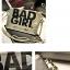 กระเป๋าแฟชั่น BAD GIRL สีทอง หนัง PU ใส่ IPAD ได้ มีสายสะพาย ((โปรโมชั่นส่งฟรี)) thumbnail 2
