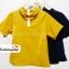 เสื้อแฟชั่น ผ้าฮานาโกะ สีเหลืองมัสตาร์ด ทรงสวย แต่งสายรัดคอเก๋ๆ เนื้อผ้า อยู่ทรง ใส่สบาย ไม่ยับง่าย สินค้าคุณภาพ ราคาไม่แพง thumbnail 5