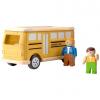 ของเล่นไม้ ของเล่นเด็ก ของเล่นเสริมพัฒนาการ School Bus (ส่งฟรี)