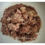 อาหารกระป๋องเปลือยขนาด 160- 170 กรัม รสปลาทูน่าเนื้อผสมขาวแดงในเจลลี่+ไก่ในเจลลี่ แพค 48 กป.(รวมจัดส่งทั่วไทย )