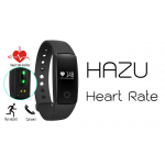 HAZU Heart Rate ID107 วัดอัตราการเต้นหัวใจ ฟิตเนส นาฬิกาสุขภาพอัจฉริยะ ติดตามกิจกรรม