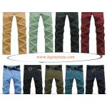 +ใหญ่พิเศษ!!กางเกงสแล็คสลิม หลากสี ใส่สบาย กระเป๋าติดกระดุม BF เอว No.28-38 ขาว ดำ กากีอ่อน เขียวทหาร น้ำเงิน ฟ้าเขียว เขียวอ่อน แดง เขียวเข้ม