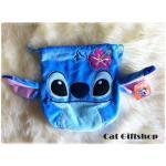 พร้อมส่ง :: ถุงหูรูด Stitch 18*18 cm