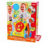 ของเล่นเด็ก ของเล่นเสริมพัฒนาการ Tiny Step Walker w/Shape Sorter Activities รถเข็นน้องเด็กหัดเดินกิจกรรมแสนสนุก