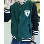 เสื้อแจ็คเก็ตเบสบอล Lambo สีดำ เขียว เทา ฟ้าอมเขียว แดง No.38 40