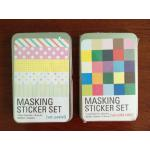 Masking Sticker Set_Pastel&Solid