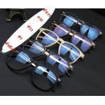 หลากสี!!กรอบแว่นตา แว่นสายตา สลิมขาทองสุดหรู สลักเหลี่ยม( สีดำ ดำด้าน น้ำตาล กระ ขาว)
