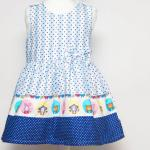 เสื้อผ้าเด็ก ชุดเดรส ชุดกระโปรงสำหรับเด็กผู้หญิง Blue Zoo (ส่งฟรี)
