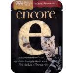 อาหารแมวเป็นซองเพาว์ขนาด 80 กรัม ไก่ฉีกในซุบ แพค 12- 100 ซอง