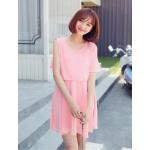 สีชมพู ไซค์ M