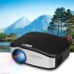HAZU MINI HD LED Projector 1200 LUMENS ความละเอียด 800x480 support 720P 1080P