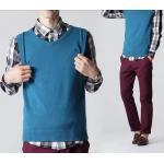 ใหญ่+เล็ก!!เสื้อกั๊กไหมพรมผู้ชาย Size No.33-35-37-39-41-43 หลากสี 1-9