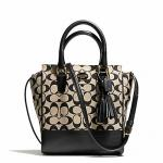 กระเป๋า COACH รุ่น PRINTED SIGNATURE MINI TANNER CROSSBODY F50495