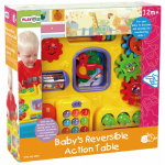 ของเล่นเด็ก ของเล่นเสริมพัฒนาการ Baby's Reversible Action Table โต๊ะกิจกรรมเสริมทักษะ 2 in 1
