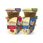 อาหารแมวแบบถ้วย 80 กรัม NUTRISH หลายรสชาดค่ะ แพค 6- 48 ถ้วย