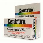 Centrum Multi Vitamins เซ็นทรัม วิตามินรวมและเกลือแร่รวม ขนาด 30 แคปซูล [ขวดเล็ก] ราคาพิเศษ ***