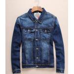เสื้อคลุมแจ็กเก็ตยีนส์ สีน้ำเงินเก่า No. 40 42 44