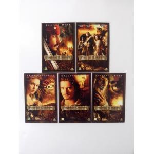 """โปสการ์ดภาพยนตร์ เรื่อง """"PIRATES OF THE CARIBBEAN"""" (1กล่อง 5 ใบ)"""