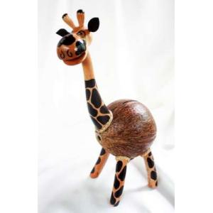 ออมสินกะลามะพร้าวยีราฟ Coconut Shell Savings Giraff