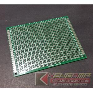 DIY PCB แผ่นปริ้นอเนกประสงค์ EPOXY 2หน้า ขนาด 7x9cm