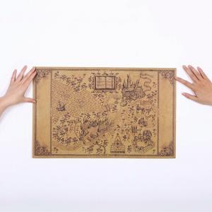 แผนที่ตัวกวน HARRY POTTER Size 51 x 33 cm.