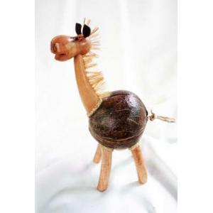 ออมสินกะลามะพร้าวม้า Coconut Shell Saving Horse