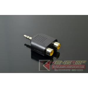 Adapter RCAx2-TRS3.5