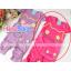 เสื้อผ้าเด็กนำเข้า ชุดเด็กไต้หวัน เสื้อ + กางเกงลายแมวสีชมพู thumbnail 1